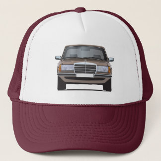 Mercedes-Benz W123 brown cap