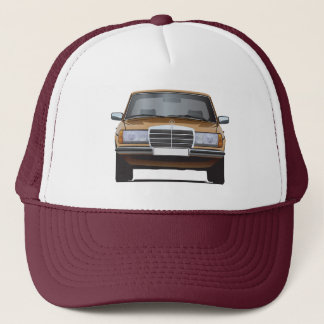 Mercedes-Benz W123 gold cap