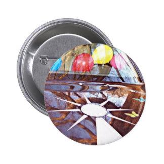 Mercedes Blink Balloon Button! Pinback Button