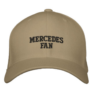 MERCEDES FAN EMBROIDERED BASEBALL HAT