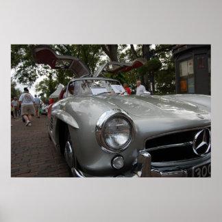 Mercedes Gullwing Print