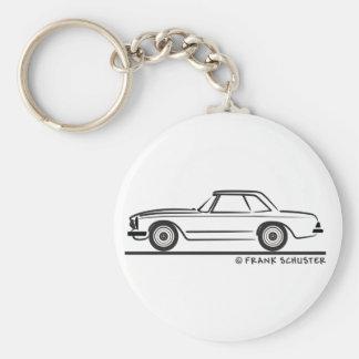 Mercedes SL Pagoda Hardtop Key Chain