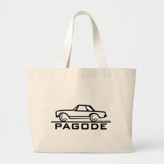 Mercedes SL Pagode con la escritura Bolsa Tela Grande