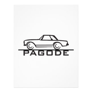 Mercedes SL Pagode Type 113 Flyer