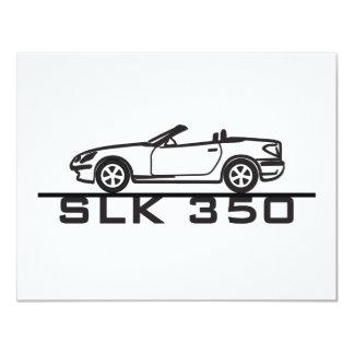 Mercedes SLK 350 Card