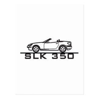 Mercedes SLK 350 Post Card