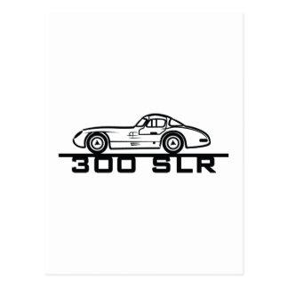 Mercedes SLR Postcards
