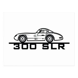 Mercedes SLR Postcard