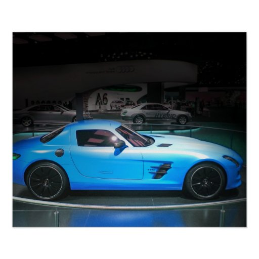 Mercedes SLS AMG Póster