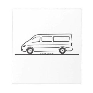 Mercedes Sprinter Notepad
