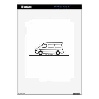 Mercedes Sprinter Short Wheelbase iPad 2 Decal