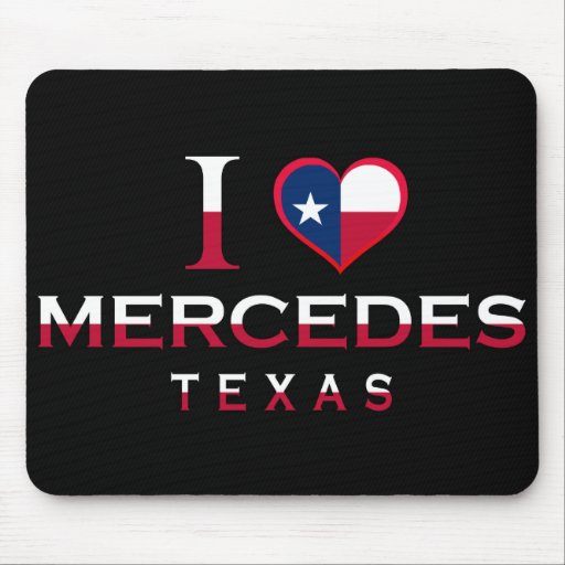 Mercedes, Texas Mouse Pad