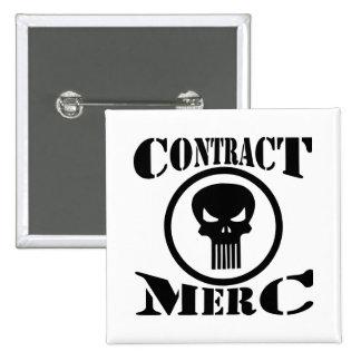 Mercenario de Merc del contrato Pin