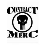 Mercenario de Merc del contrato Postales