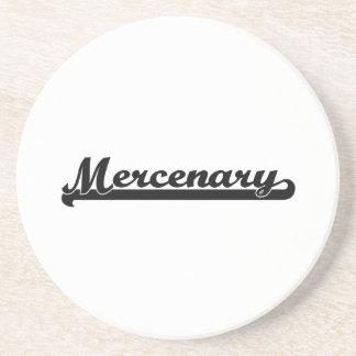 Mercenary Classic Job Design Coasters