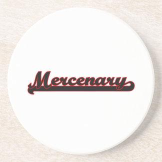 Mercenary Classic Job Design Drink Coaster