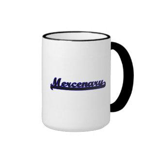 Mercenary Classic Job Design Ringer Coffee Mug