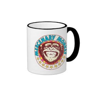Mercenary Monkey Ringer Coffee Mug