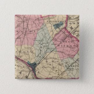 Mercer County, NJ Pinback Button