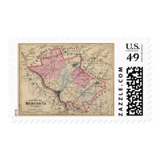 Mercer County, NJ Postage Stamps