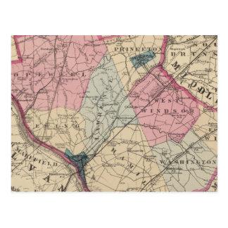 Mercer County, NJ Post Card