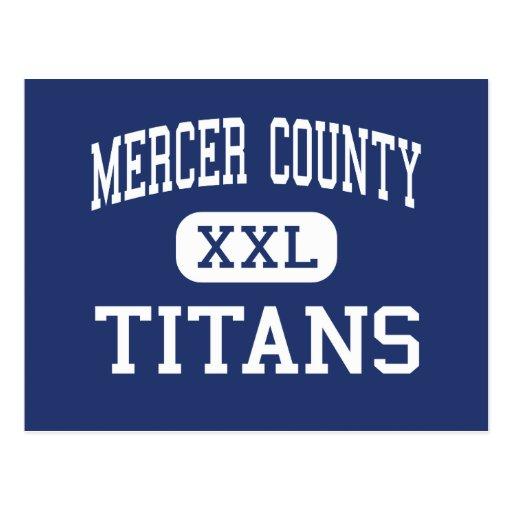Mercer County - Titans - High - Harrodsburg Post Card