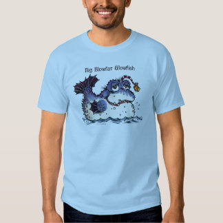 Mercer Mayer's Blowfat Glowfish monster Tee Shirt