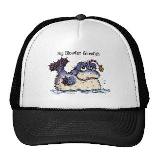 Mercer Mayer's Blowfat Glowfish monster Trucker Hat