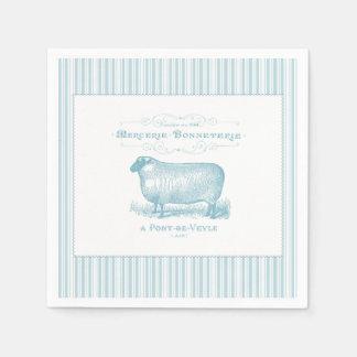Mercerie Bonneterie Sheep Napkin