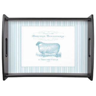 Mercerie Bonneterie Sheep Serving Tray