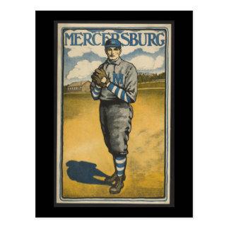 Mercersburg Baseball Postcard