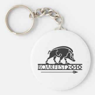 merch basic round button keychain