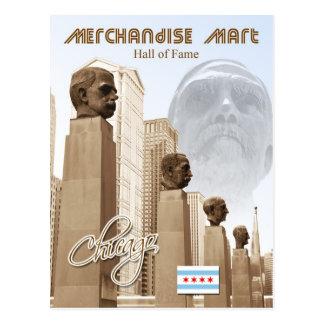 Merchandise Mart Hall of Fame, Chicago, Illinois Postcard