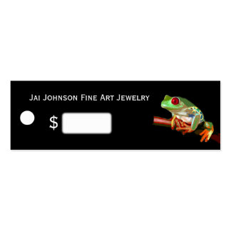 Merchandise Price Tags (Tree Frog) Mini Business Card