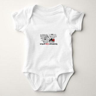 Merchandisign I Love Offroad Baby Bodysuit