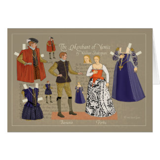 Merchant of Venice Greeting Cards
