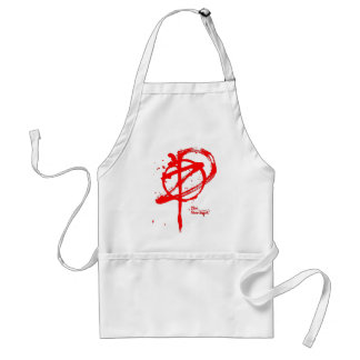 Merchant Shirt Red Only Adult Apron