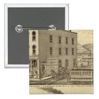 Merchant tailor establishment of CW Seabright Pinback Button