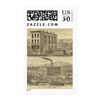 Merchant tailor establishment of CW Seabright Postage