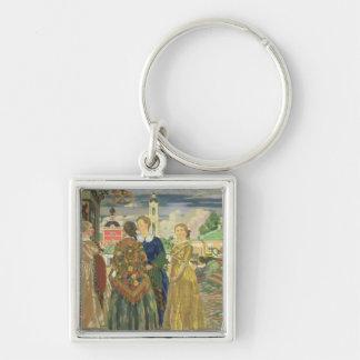 Merchant Women Keychain