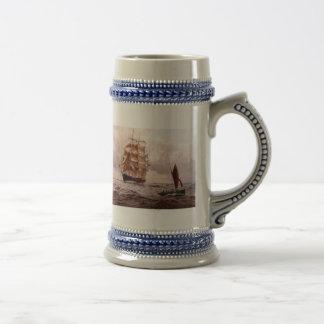 Merchantman returning home mug