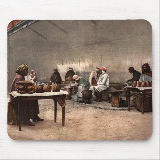Merchants of eatables, Bona, Algeria vintage Photo Mousepad