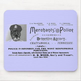 Merchant's Police and Detective Agency Mouse Pad