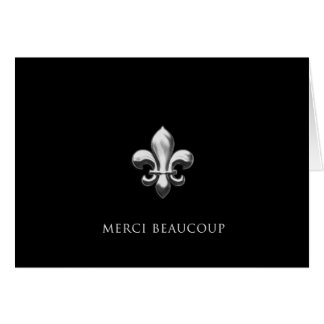Merci Beaucoup (Thank You Very Much) Stationery Note Card