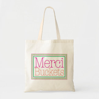 Merci Buckets Tote Bag