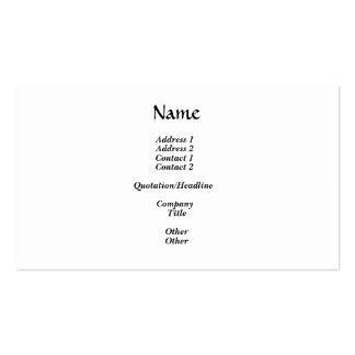Merci Double-Sided Standard Business Cards (Pack Of 100)