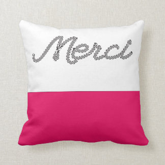 French Words Pillows, French Words Throw Pillows