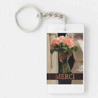 Merci La Sposa di Sabbia Wedding Favor Keychain