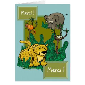 Merci !, Merci ! Card