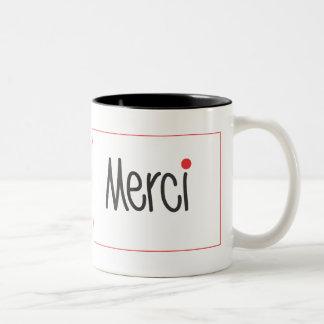 Merci negro y el rojo le agradecen asaltar taza de café